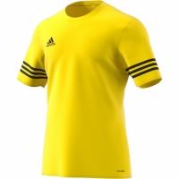 Tricou Adidas Entrada 14 galben And negru F50484 teamwear adidas teamwear