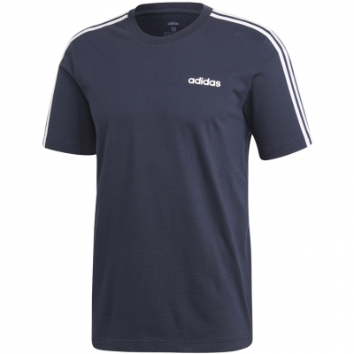 Tricou Adidas Essentials 3 Stripes bleumarin DU0440 barbati