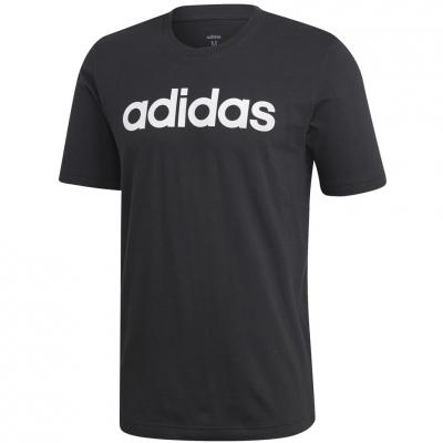Tricou Adidas Essentials Linear negru DU0404 barbati