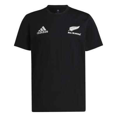 Tricou adidas New Zealand All Blacks bumbac pentru Barbati negru