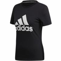 Tricou Adidas W MH Bos Tee negru DY7732