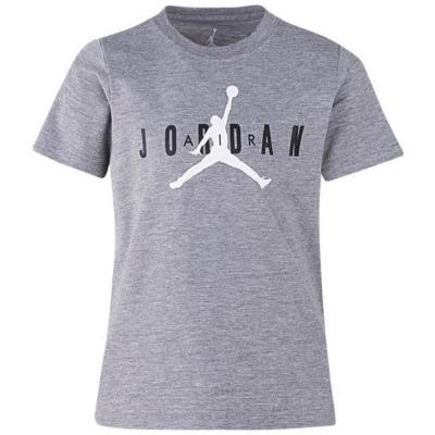 Tricou Air Jordan JM baietei gri deschis
