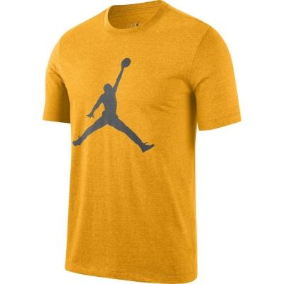 Tricou Air Jordan Jumpman pentru Barbati university auriu