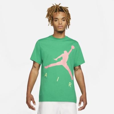 Tricou Air Jordan Jumpman pentru Barbati verde roz