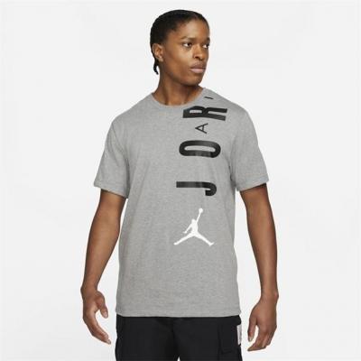 Tricou Air Jordan Jordan Stretch Short-Sleeve pentru Barbati deschis negru
