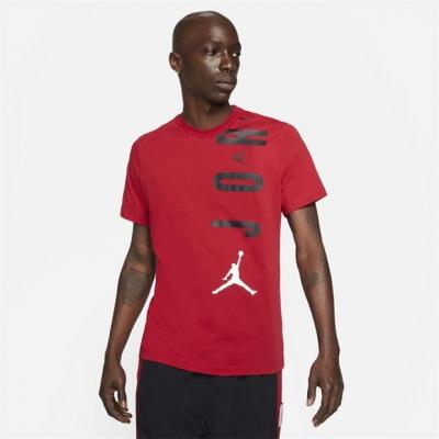 Tricou Air Jordan Jordan Stretch Short-Sleeve pentru Barbati rosu negru