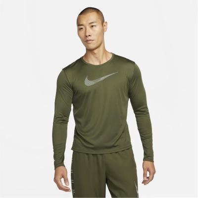 Tricou alergare Nike UV Run Division Miler pentru Barbati rough verde