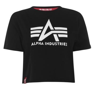 Tricou Alpha Industries Big A negru alb