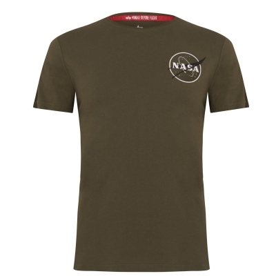 Tricou Alpha Industries inchis oliv