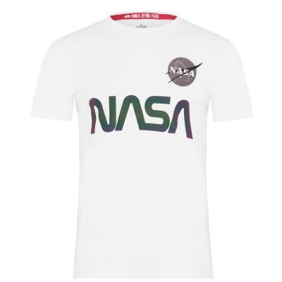 Tricou Alpha Industries NASA Multi alb