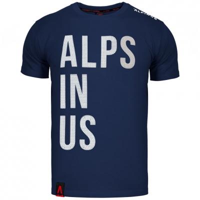 Tricou Alpinus Alps In Us bleumarin ALP20TC0015 pentru Barbati