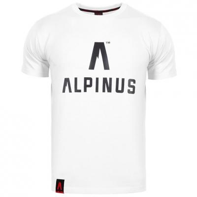 Tricou Alpinus clasic alb ALP20TC0008 pentru Barbati