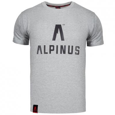Tricou Alpinus clasic gri ALP20TC0008 pentru Barbati