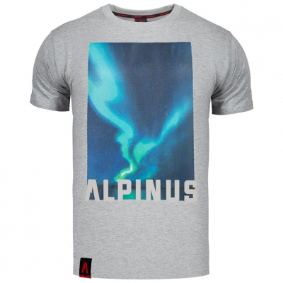 Tricou Alpinus Cordillera gri ALP20TC0009 pentru Barbati
