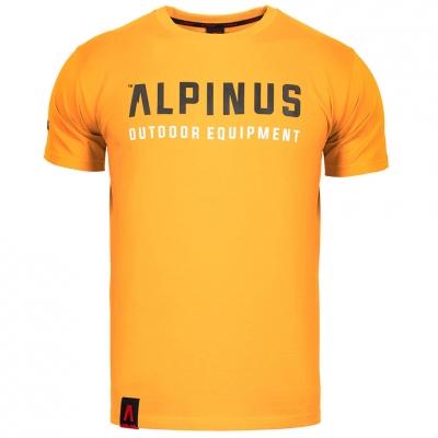 Tricou Alpinus Outdoor Eqpt portocaliu ALP20TC0033 pentru Barbati
