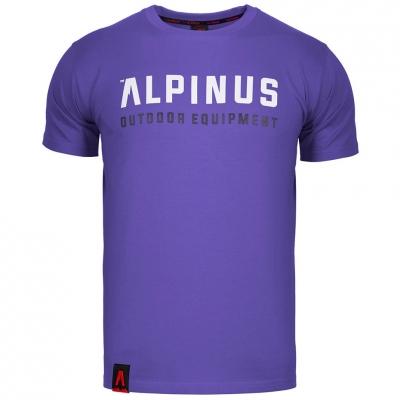 Tricou Alpinus Outdoor Eqpt Violet ALP20TC0033 pentru Barbati