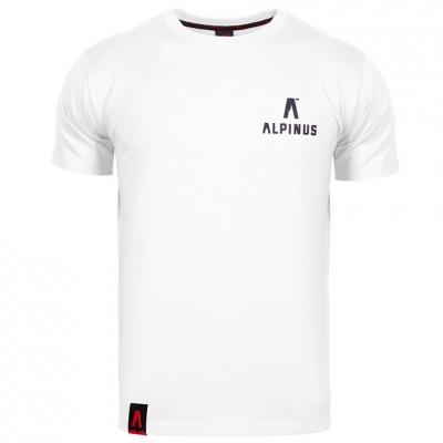Tricou Alpinus Wycheproof alb ALP20TC0045 pentru Barbati