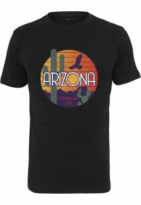 Tricou American Life Arizona negru Mister Tee