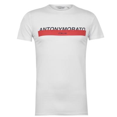 Tricou Antony Morato Antony Morato Italia alb