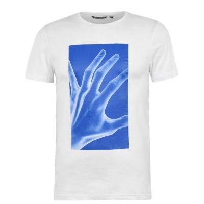 Tricou Antony Morato Neon Hand alb