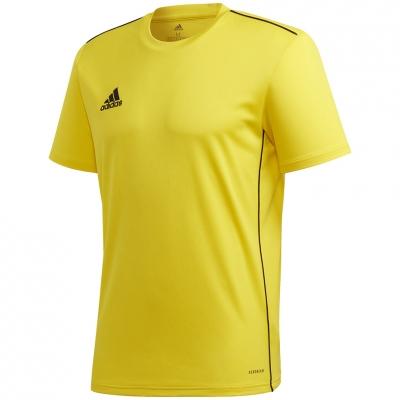 Tricou antrenament Adidas Core 18 Jersey galben FS1905 pentru Barbati