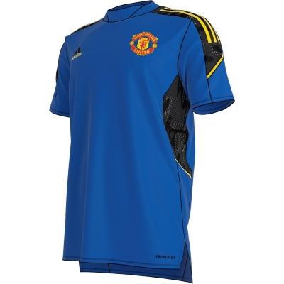 Tricou antrenement adidas Manchester United European 2021 2022 pentru Barbati albastru