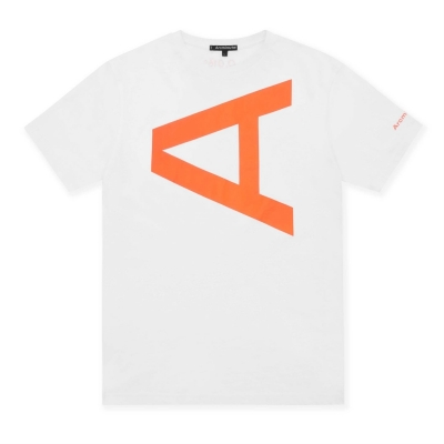 Tricou Arcminute Tolemy alb