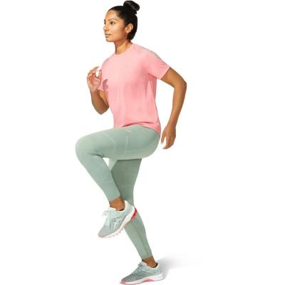 Tricou Asics Icon alergare pentru Femei roz gri