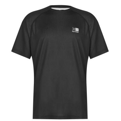 Tricou Karrimor Aspen Technical pentru Barbati negru gri carbune
