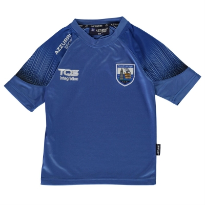 Tricou Azzurri Waterford Kinvara pentru copii skydive gri inchis