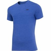 Tricou barbati 4F albastru Melange H4Z19 TSM070 33M pentru femei