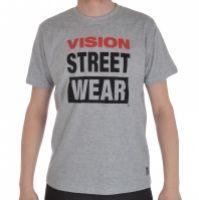 Tricou barbati Logo Tee Grey Vision Street Wear