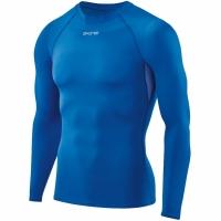 Tricou barbati Skins DNAmic Force cu maneca lunga Top albastru DF0001005 2041