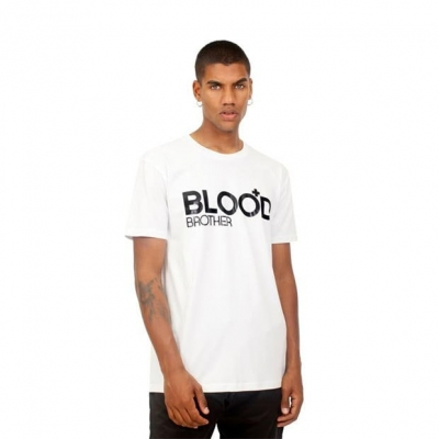 Tricou Blood Brother alb
