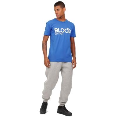 Tricou Blood Brother albastru