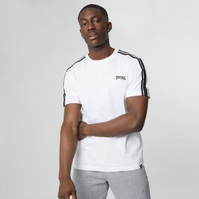 Tricou Bluza cu dungi Lonsdale 2 alb