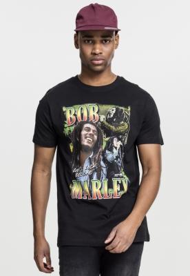 Tricou Bob Marley Roots negru Mister Tee
