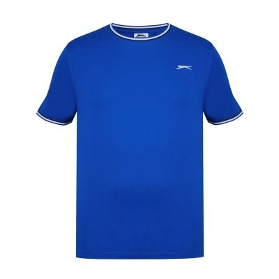 Tricou bumbac Slazenger pentru barbati albastru roial