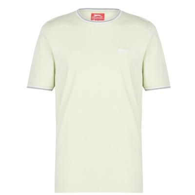 Tricou bumbac Slazenger pentru barbati deschis verde