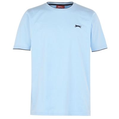 Tricou bumbac Slazenger pentru barbati pastel albastru