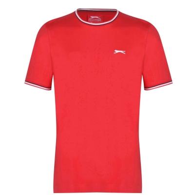 Tricou bumbac Slazenger pentru barbati rosu