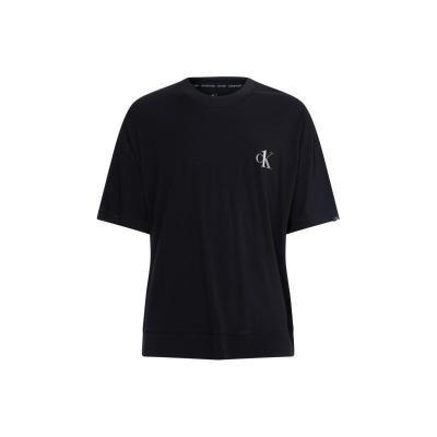 Tricou Calvin Klein cu Maneca Scurta negru