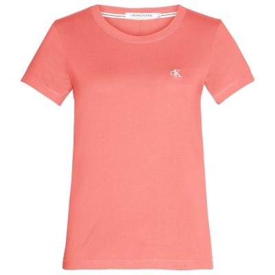 Tricou Calvin Klein Jeans Embroidered Logo Slim Fit sm9 multicolor pnch