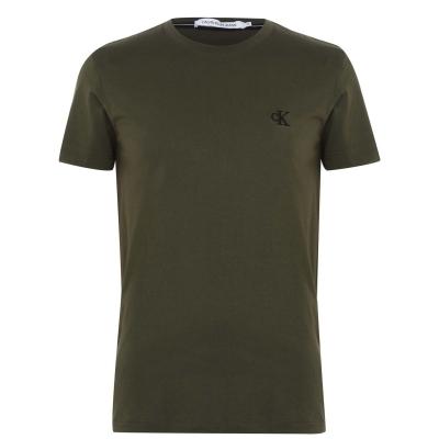 Tricou Calvin Klein Jeans Essential oliv lld