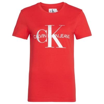 Tricou Calvin Klein Jeans rosu