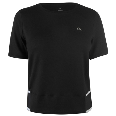 Tricou CALVIN KLEIN PERFORMANCE Basic negru