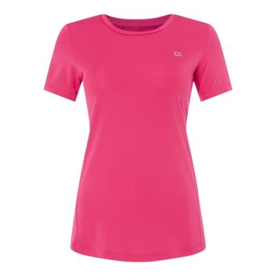 Tricou Calvin Klein Performance cu Maneca Scurta Tech roz