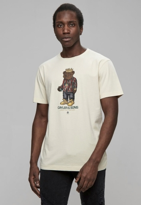 Tricou C&S WL Bedstuy nisip-mc Cayler and Sons