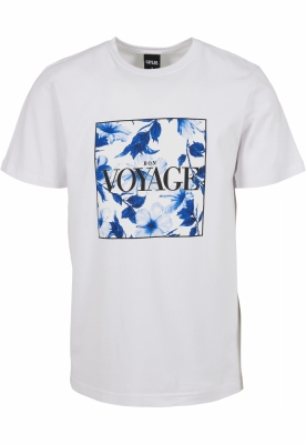 Tricou C&S WL Bon Voyage Japanese Flowers alb-mc Cayler and Sons