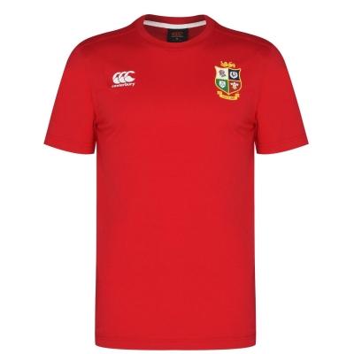 Tricou Canterbury British and Irish Lions Jersey pentru Barbati rosu
